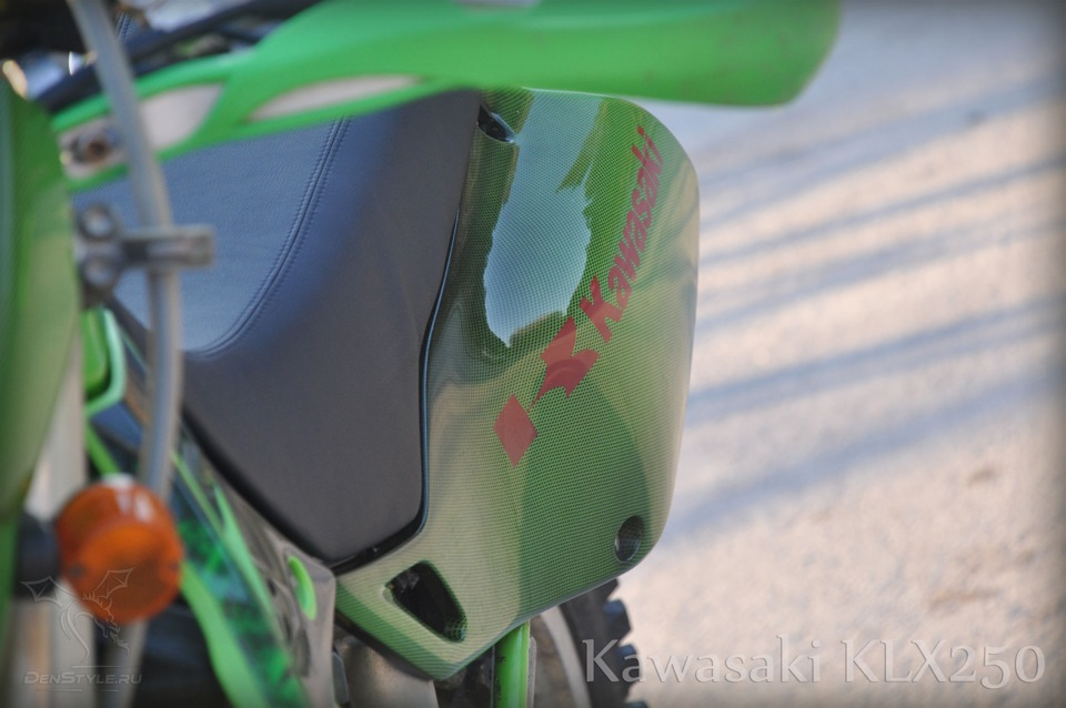 Kawasaki KLX250 denstyle aquaprint