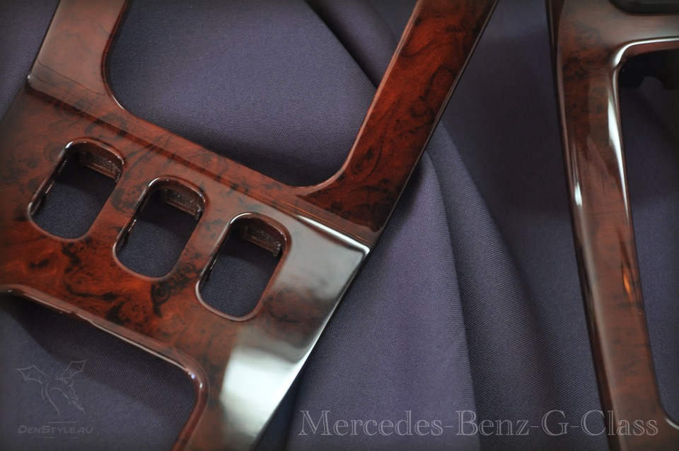 Mercedes-Benz G-Class — Покраска под дерево Гелендваген!