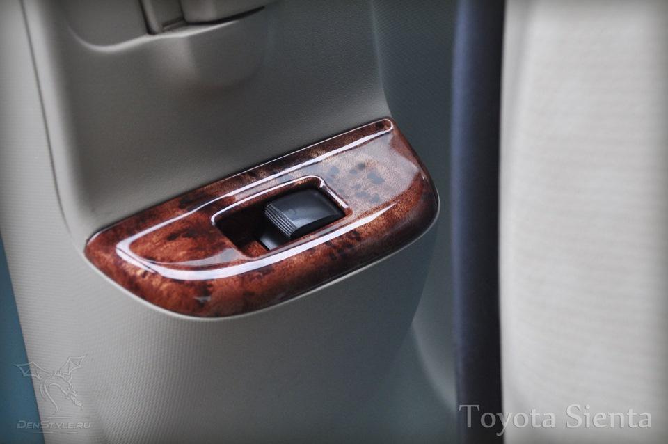 Toyota Sienta - изюминка